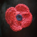 Crochet poppy pattern