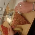 Christmas bunting workshop