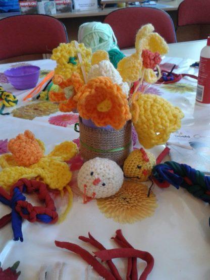 crochet flowers Joy To Make