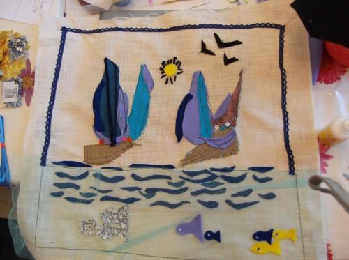 Creative Textiles workshop